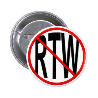 Anti-RTW Pinback Button