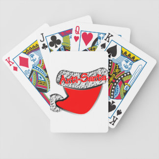 Anti-Santa Baraja Cartas De Poker