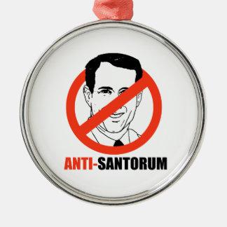 Anti-Santorum Adornos De Navidad