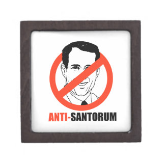 Anti-Santorum Cajas De Regalo De Calidad