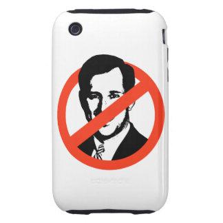 Anti-Santorum iPhone 3 Tough Fundas