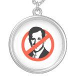Anti-Santorum Personalized Necklace