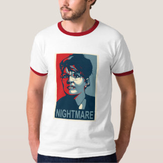 Anti-Sarah Palin - Nightmare - Red Band - Mens T-Shirt