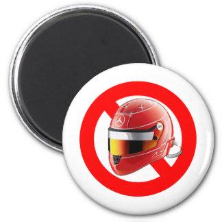 Anti Schumacher Girl Shirt with Logo 2 Inch Round Magnet