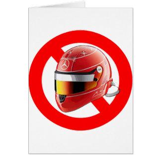 Anti Schumacher Girl Shirt with Logo Card