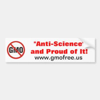 Anti-Science Bumper Sticker Car Bumper Sticker
