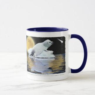 """""""Anti Seal Hunt"""" HARP SEAL Mug"""