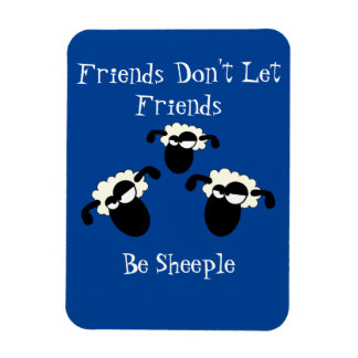 Anti-Sheeple Magnet