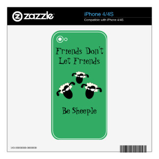 Anti-Sheeple Skin For The iPhone 4S