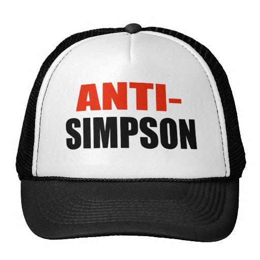 ANTI-SIMPSON GORRAS DE CAMIONERO