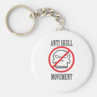 Anti Skull Movement Key Chains