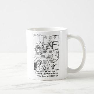 Anti Smoking Monkeys by Jim Kraft Classic White Coffee Mug