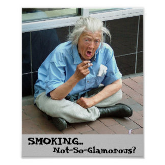 Anti-Smoking Print