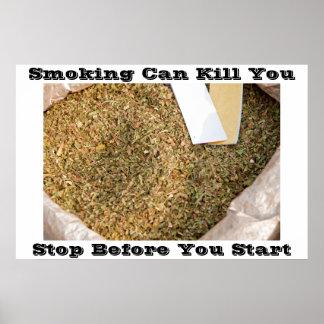 anti smoking posters