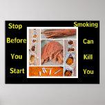 anti smoking posters many