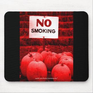 Anti-Smoking Pumpkin Rally Mouse Pad