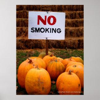 Anti-Smoking Pumpkins Poster