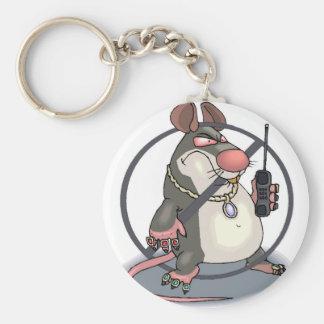 Anti-Snitch Keychain