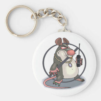 Anti-Snitch No Rats Keychain