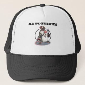 Anti-Snitch No Rats Trucker Hat