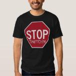 Anti-Snitch Original Stop Snitch'n Tee Shirt