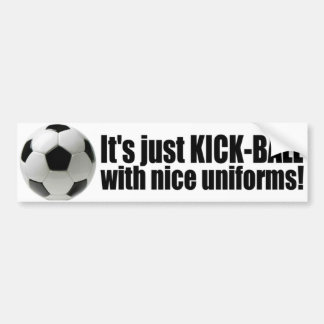 Anti Soccer - World Cup Bumper Sticker
