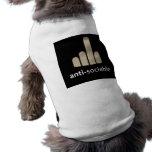 Anti-Sociable Dog Shirt