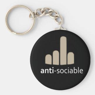Anti-Sociable Keychain