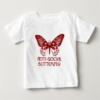 Anti-Social Butterfly Baby T-Shirt