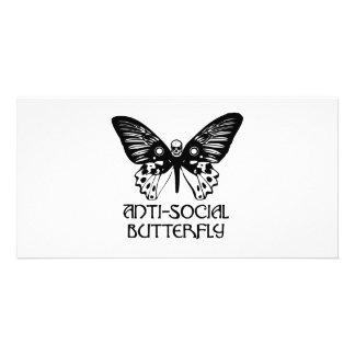 Anti-Social Butterfly Card