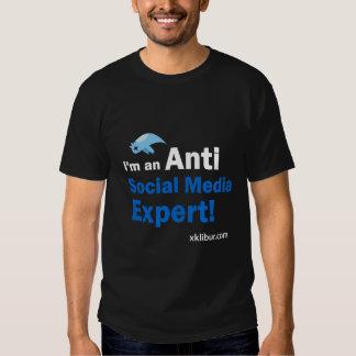 Anti Social Media Expert T-shirt