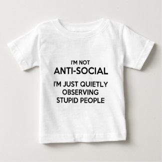 Anti Social Observing.png Baby T-Shirt