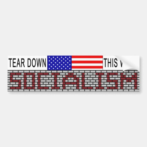 Anti_Socialism bumper sticker