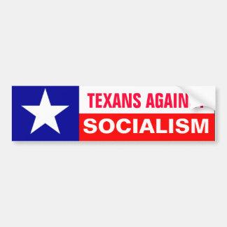 Anti-Socialism Texans Bumper Sticker