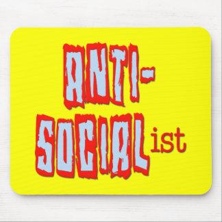 Anti-Socialista Alfombrilla De Ratones