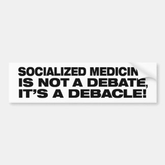 Anti-Socialized Medicine bumper sticker