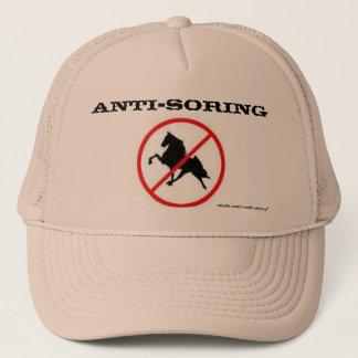 Anti-Soring hat with Ban Symbol