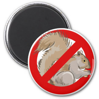 Anti-Squirrel 2 Inch Round Magnet
