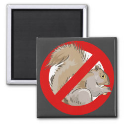 Square Magnet with Anti-Squirrel design