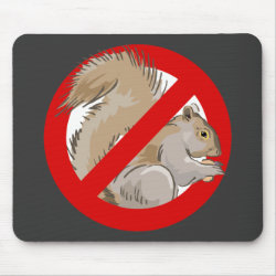 Anti-Squirrel Mousepad