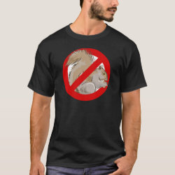 Anti-Squirrel Men's Basic Dark T-Shirt