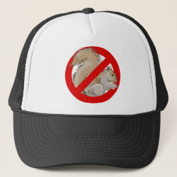 Anti-Squirrel Trucker Hat