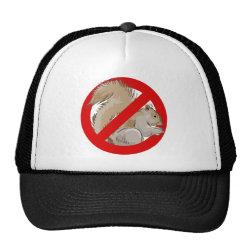 Trucker Hat with Anti-Squirrel design