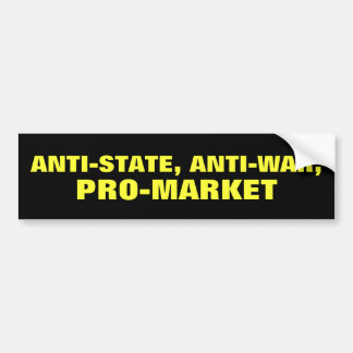 Anti-State Pegatina Para Auto