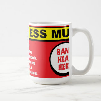 Anti Stress Kit Bang Head Here Mug
