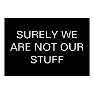 Anti-Stuff Poster