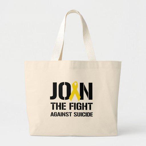 Anti-Suicide Jumbo Tote Bag