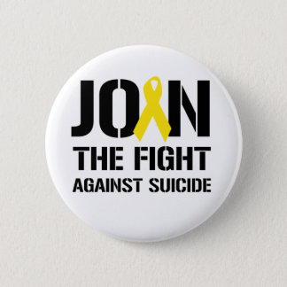 Anti-Suicide Pinback Button