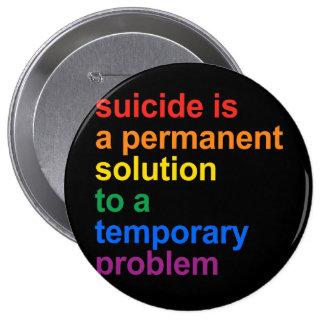 Anti-Suicide Pinback Buttons