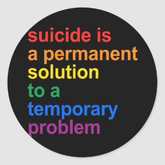 Anti-Suicidio Etiqueta